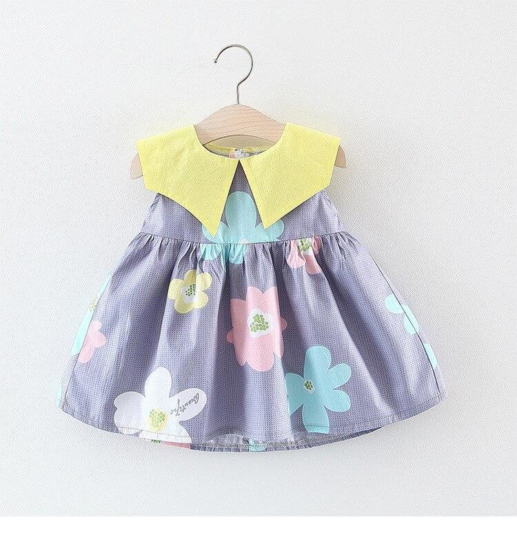 2019 Summer Toddler Dress Little Girls Dresses Sleeveless Print Kids Dress2019 Summer Toddler Dress Little Girls Dresses Sleeveless Print Kids Dress