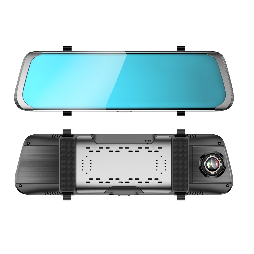 Car DVR 10 Inch IPS Touch Screen4G Mirror DVR Android ADAS GPS FHD 1080P WIFI Auto View Mirror With Camera