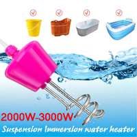 AC220V 3000W Electric Water Heater Tankless Immersion Element Boiler for Bathroom Hot Water Heater