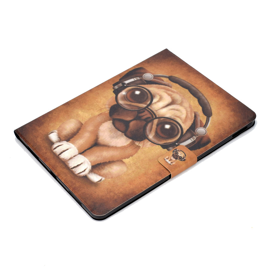 Case For iPad Pro 11 Cover Funda Model A1980 For New iPad Pro 11 inch 2018 Cartoon Pattern PU Leather Stand Shell Film Pen in Tablets e Books Case from Computer Office
