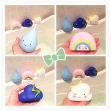 Детские игрушки для ванной комнаты, водный распылительный инструмент, облака, душ, плавающие игрушки