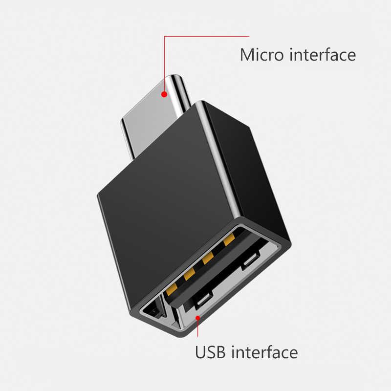 OTG адаптер конвертер из Micro USB в USB 2,0 OTG кабель для Android мобильного телефона Samsung Galaxy Xiaomi планшетный ПК мышь клавиатура OTG