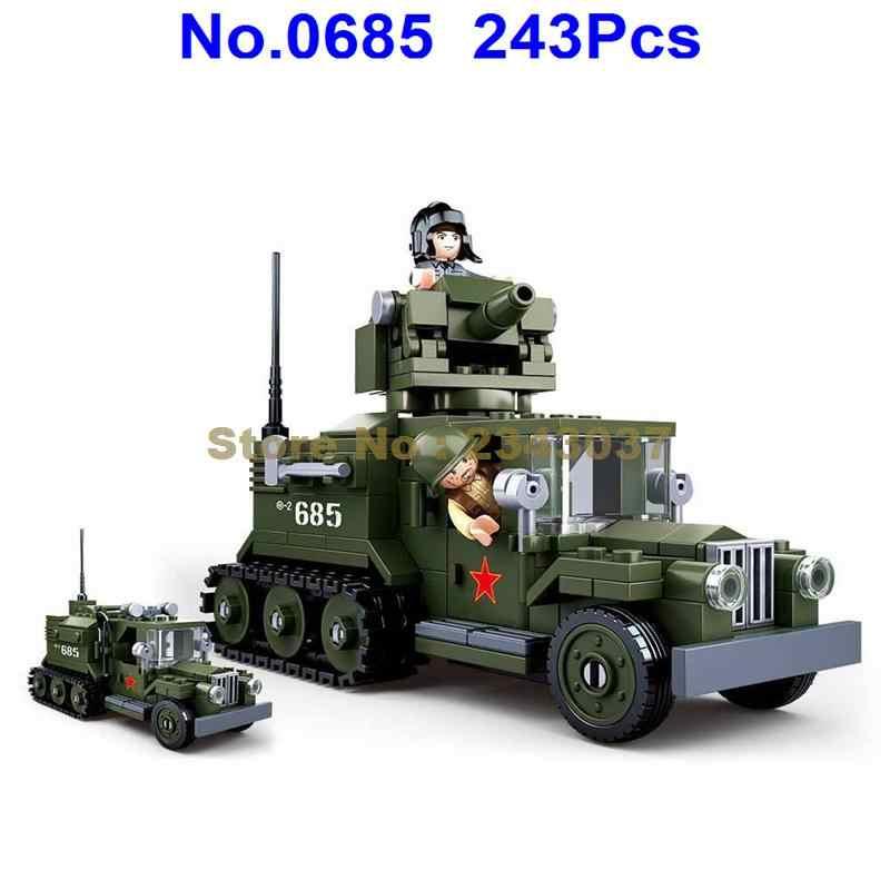 Detail Feedback Questions about Sluban 0685 243pcs Military