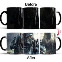 Fallout 4 Coffee Mugs Funny Color Change Cups and Mugs Creative Drinkware