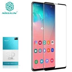 SFor Samsung Galaxy S10 + Plus 3D CP + MAX Segurança Temperado NILLKIN Vidro Protetor de Tela de Proteção para Samsung S10 Plus S10e