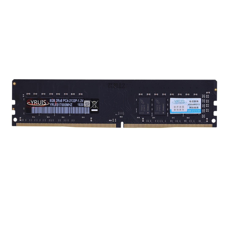 Yruis DDR4 8G Pc Ram Mémoire Dimm 1.2 V De Bureau Ram Ram De Mémoire Interne Pour Ordinateur Jeux