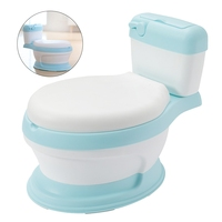 Baby Potty Toilet Training Seat Portable Plastic Children's Pot Plastic Child Potty Trainer Kids Indoor WC Baby Potty Chair