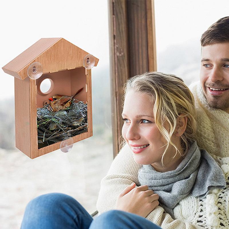 Vogel Liefert Transluzenten Vogel Nest Haus Hütte Käfig Feeder Pet Papagei Mit Halten Sittich Liefert DIY Vogel Nest Käfig
