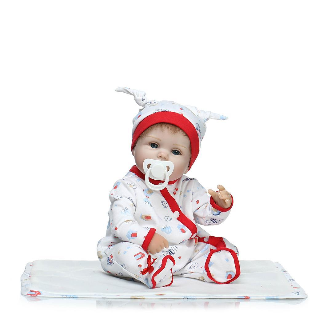 Kids Soft Silicone Realistic With Clothes Reborn Opened Eyes Baby 2-4Years Collectibles, Gift, Playmate DollKids Soft Silicone Realistic With Clothes Reborn Opened Eyes Baby 2-4Years Collectibles, Gift, Playmate Doll