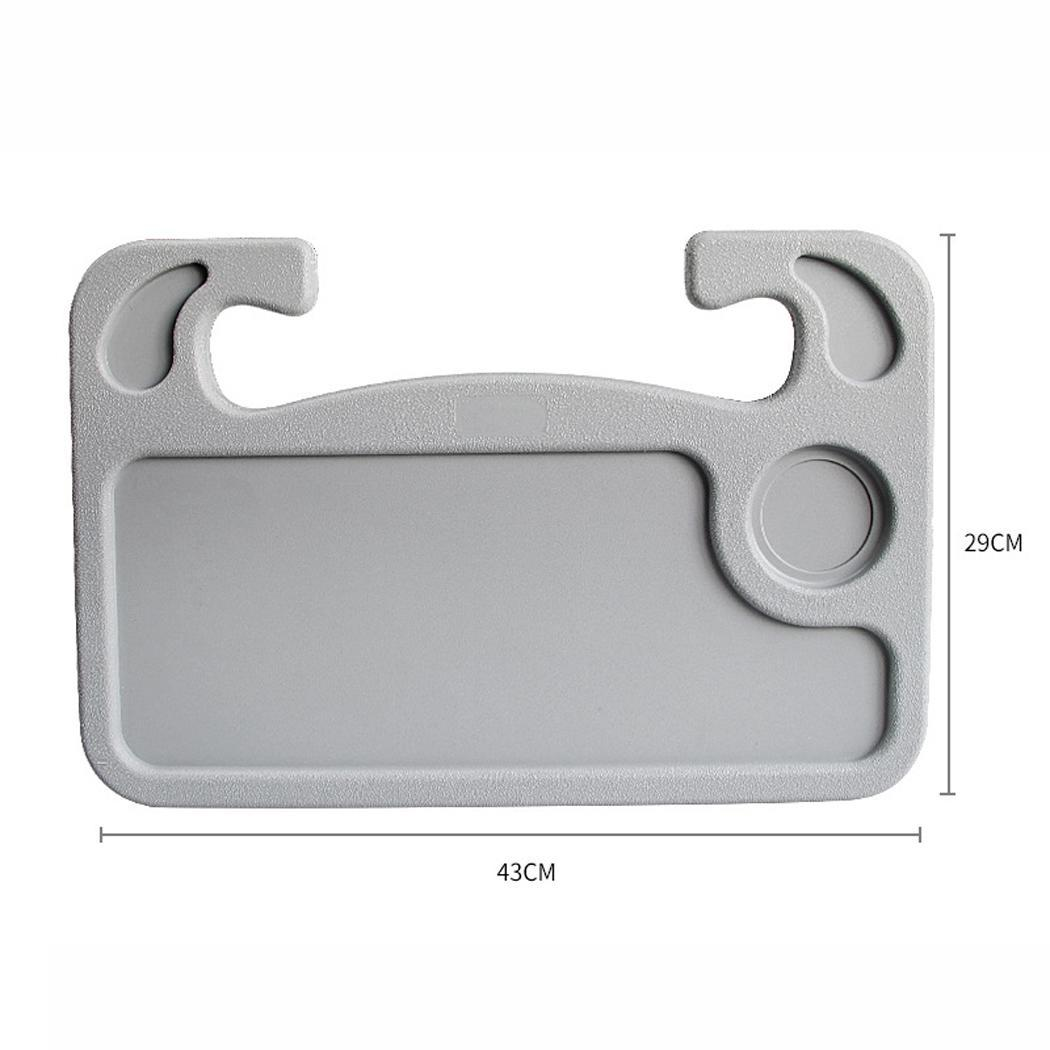Car Table Laptop Desk Worktable Dish Snacks Drink Holder Auto Supplies Universal Accessories Multi-function Automobiles & Motorcycles Drinks Holders