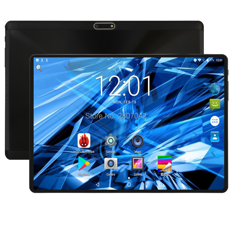 10 Inch Tablet Octa Core 4GB RAM 64GB ROM 3G 4G FDD LTE Phone Call Android 8.0 Tablet GPS WIFI 1280X800 Support Youtube Google