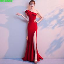 2019 Rushed Empire Autumn Sleeveless Women Dress Vestido De Festa Vestidos Mujer The New Banquet Is Elegant, Red, And Elegant.