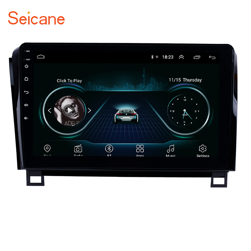 Seicane 10 1 inch HD touchscreen Radio GPS Navigation System Android 8 1 for 2006 2015