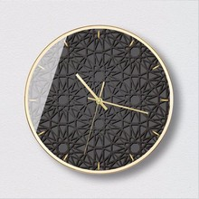 New 3D Big Wall Clock Fashion Art Simple Light Luxury Large Size Bedroom Modern Design For Home