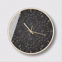 New 3D Big Wall Clock Fashion Art Wall Clock Simple Light Luxury Wall Clock Large Size Bedroom Clock Modern Design For Home
