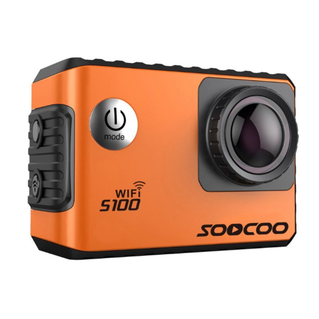 SOOCOO S100 Ir Pro 4K Action Camera 2.0 Tela Sensível Ao Toque de Controle de Voz Wi fi Cam Esportes Gyro Remoto 20MP pro ao ar livre Mini DV Esportes - 3