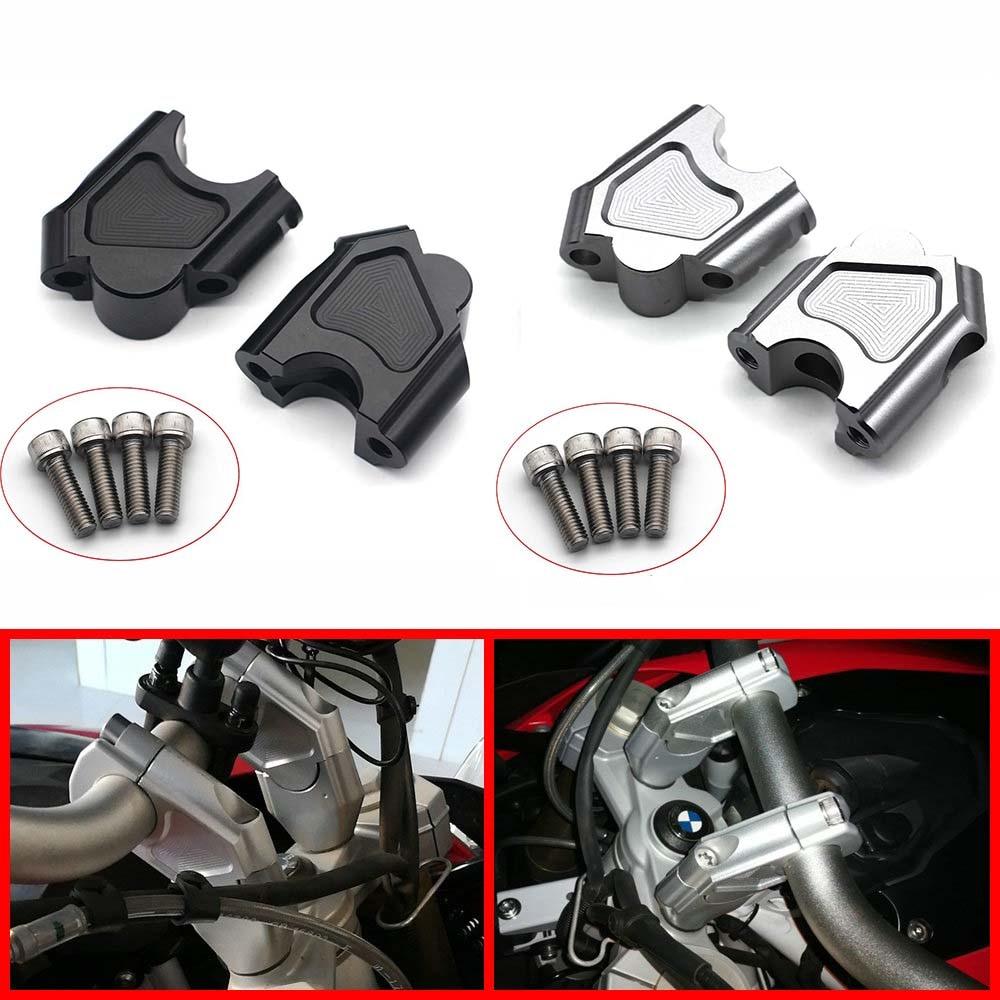 Acessórios da motocicleta lidar com barra braçadeira levantada estender guiador montar riser para bmw f700gs f700 gs f650 gs f700 gs