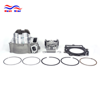 Motorcycle Engine Cutter Cylinder Block Piston Ring Gasket Kits For ZongShen 250CC NC250 NC 250