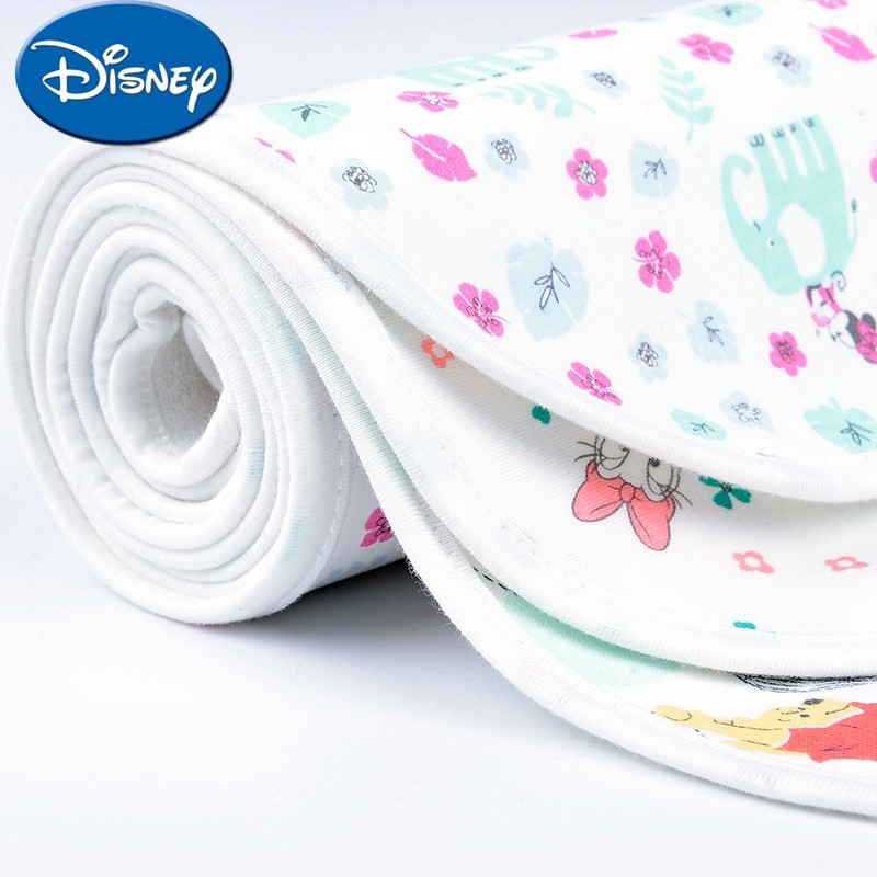 Disney Baby Cotton Spacer Big Breathable Waterproof Mattress Washable Cartoon Bed Care Size 50*70
