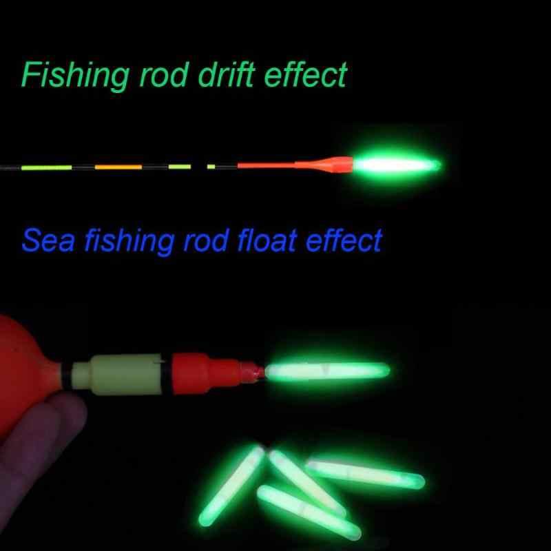 Sikiwind 5 piezas 4,5mm flotador de pesca nocturna Barra de luz fluorescente Barra de brillo de guía anillo de guía accesorios de herramientas de pesca