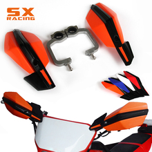 Motorcycle Hand Handle Bar Handguard Handlebar Guard For KTM KTM EXC EXCF SX SXF SXS MXC MX XC XCW XCF XCFW LC4 EGS Dirt Bike motorcycle handguards hand guards brush bar for ktm exc excf sx sxf xcf xcw sxs egs lc4 125 150 200 250 300 350 400 dirt bike