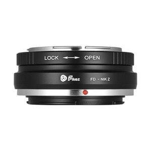 Image 3 - Adapter pierścieniowy obiektywu Fikaz do aparatu Zenit M39 do aparatu Nikon Z6/7 Z do mocowania minolty MD do Sony a mount M42