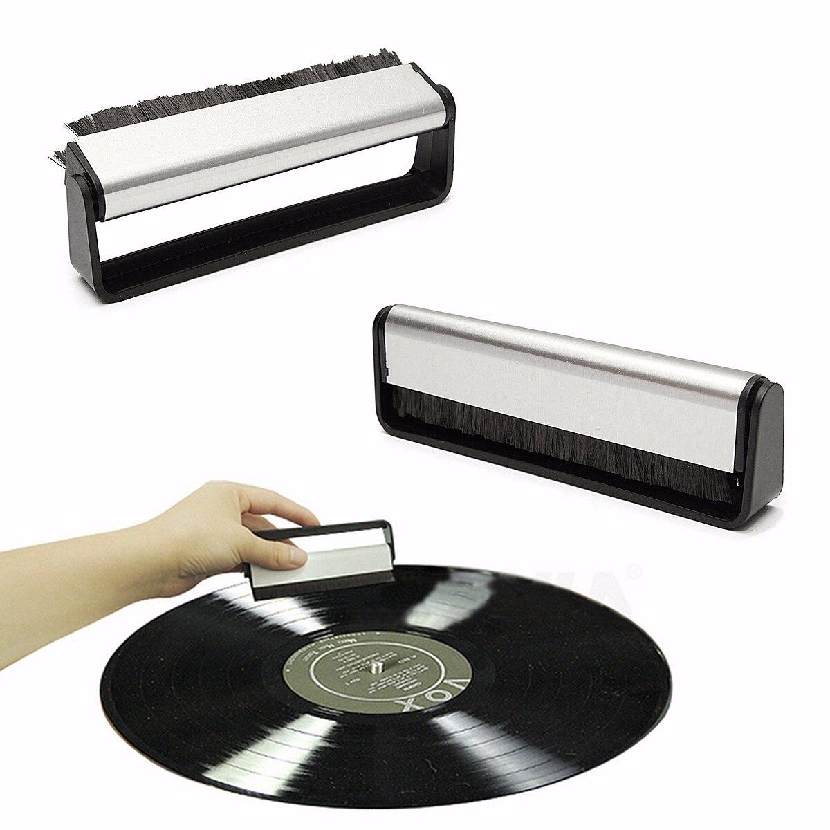 Leory Kcl-1907 Kombination Plattenspieler Lp Vinyl Reinigung Kit Dupont Pinsel Mit Zotten Stiff Pinsel Für Lp Phonographen Vinyl Aufzeichnungen Unterhaltungselektronik Plattenspieler