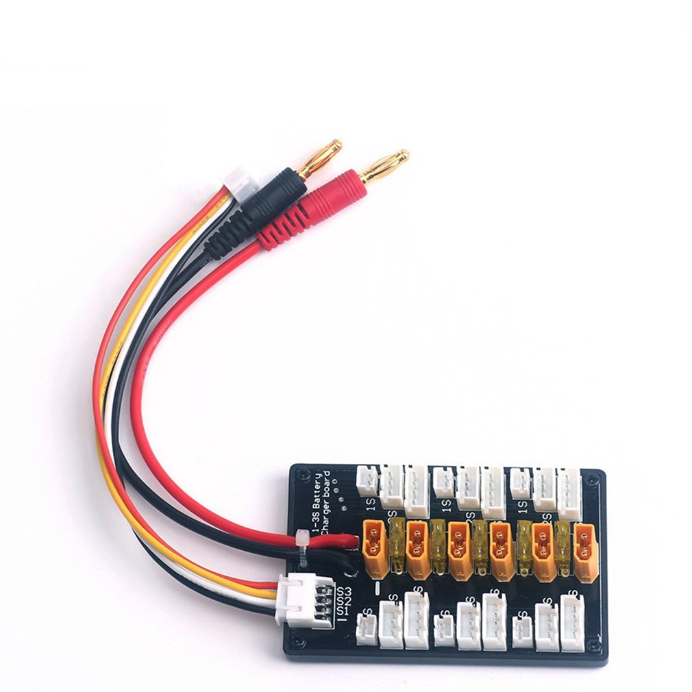 XT30 Multi Lipo Parallel Balanced Charging Board For 2S-6S RC Battery Charger Parallel Charging Plate Board