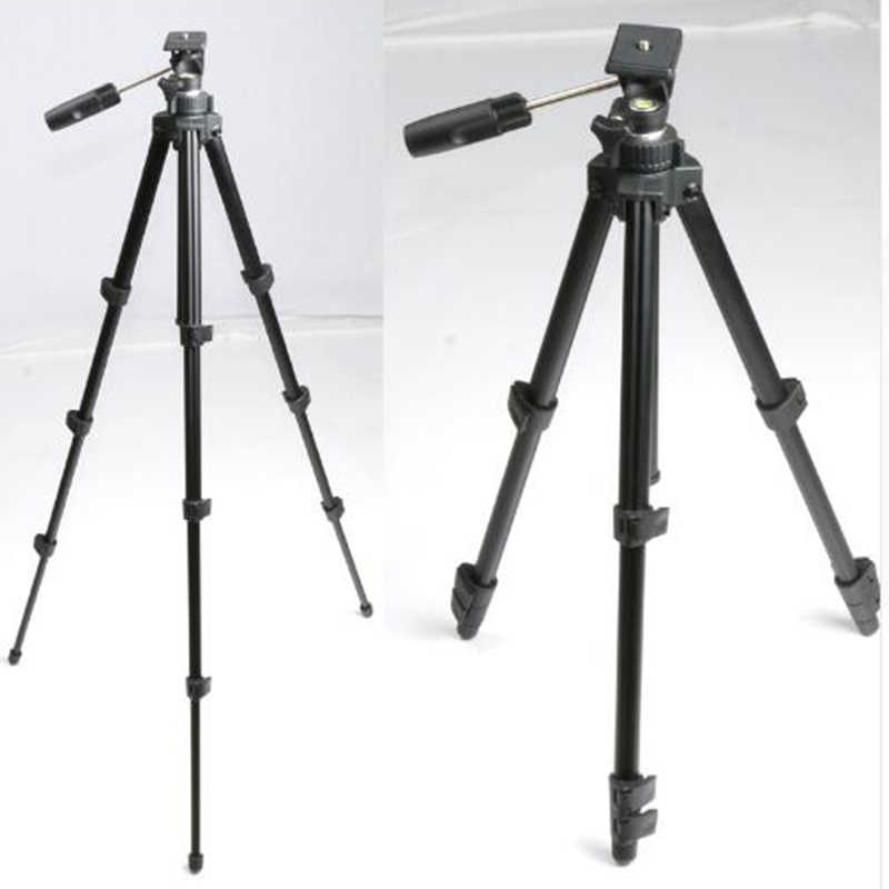 Bexin Ms17 Aluminum Camera tripod 3 Way Swivel Head Travel Professional Tripod Accessories Stand With Head For Canon Dslr Came
