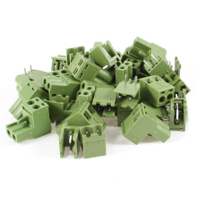 цена на 20 Pcs AC 300V 10A 5.08mm Pitch 2 Pin Screw Pluggable Terminal Block