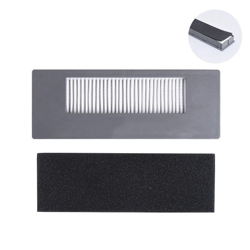 5 Pcs Hepa Filter Voor Ecovacs Stofzuiger Dg710/dg711/gd716/de35/de33, Vegen Robot Vervanging Cleaner Filter Netto Kit