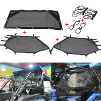 For Polaris RZR 1000 900 RZR XP 4 UTV Front Rear Window Net Window Shade Shield Cover UTV Door Scratch Prevention Protection