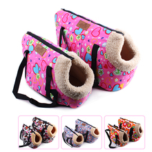 Pink Dog Carriers For Small Dogs Bag Carrier Gray Soft Fashion Pet Pets Carry Out Goods
