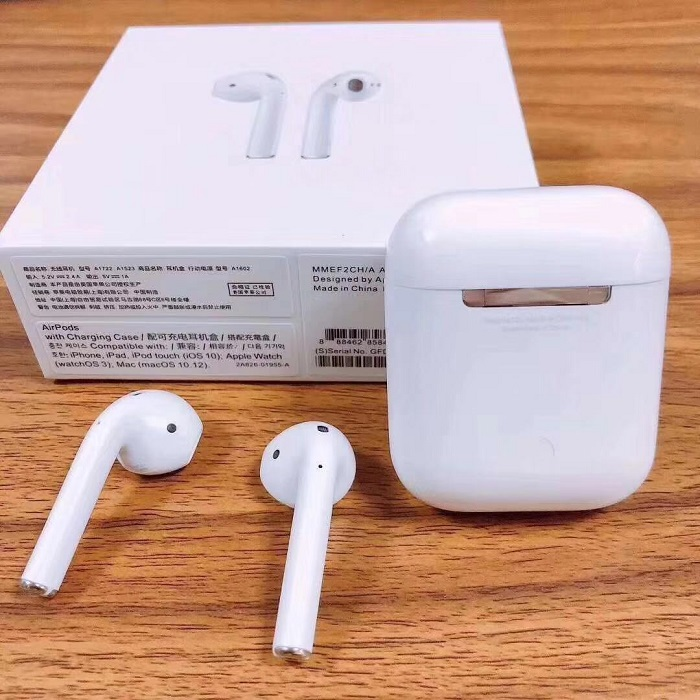100% original airpods high quality best bluetooth earphone(China)