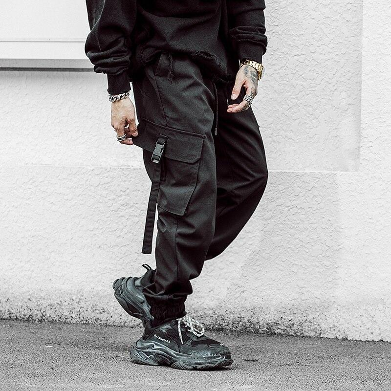 Mutter & Kinder WohltäTig 2019 Frühling Neue Jogger Hose Pantalon Hombre Hip Hop Männer Ankle Länge Ment Hose Schwarz Streetwear Schweiß Hose Pantalon Homme Moderater Preis