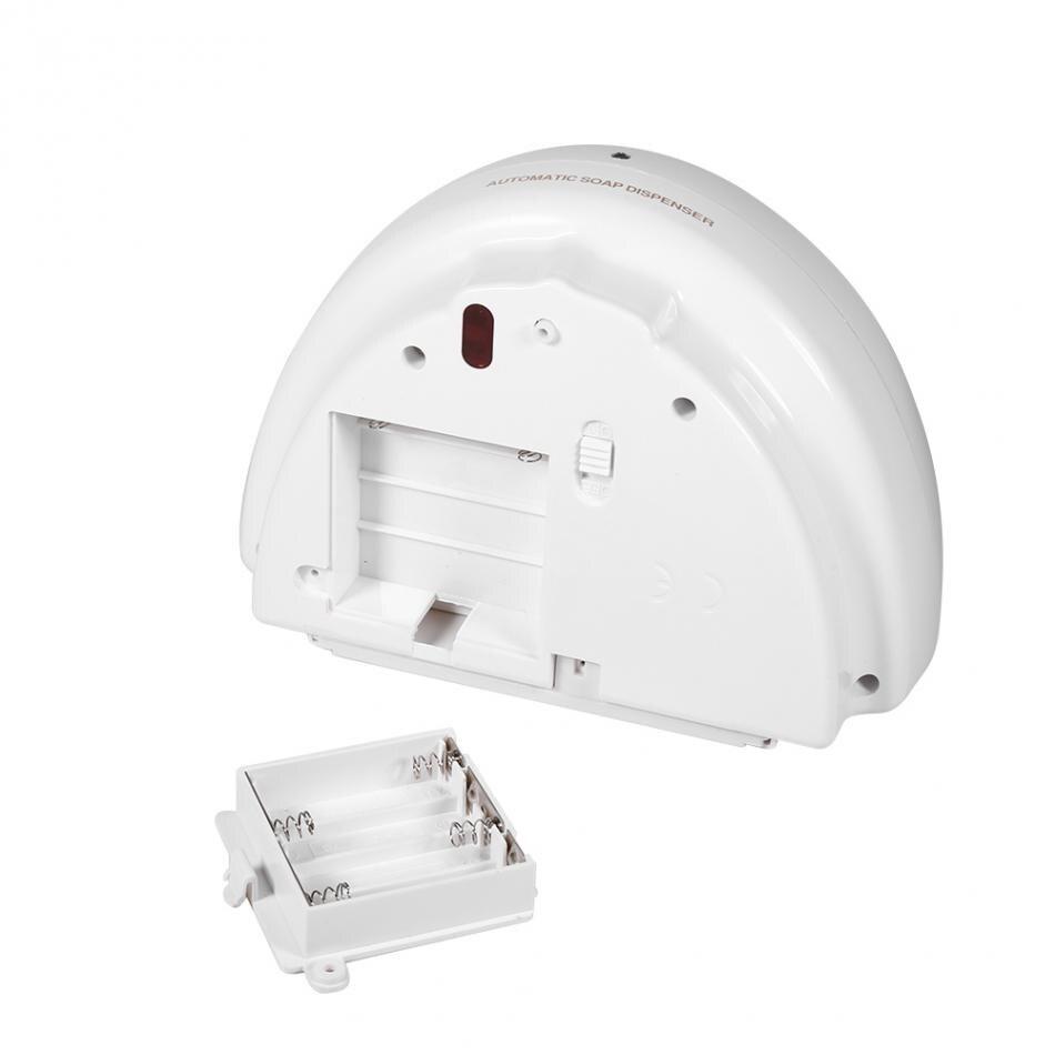 Image 5 - 500ml dispensador de sabão automático mão livre sensor chuveiro  shampoo líquido sabão loção caixa fixado na parede do recipiente de  sabão para cozinhaDispensadores de sabão líquido