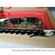 Original New Best Price ZTE GTGH 16 ports GPON board GTGH with 16 C++ SFP for ZTE OLT C320 C300 GTGHG GTGHK(China)