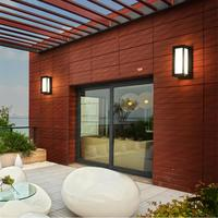 SOLLED Wall lamp Outdoor Waterproof LED Wall light 85 265V Aluminum Courtyard Garden Porch Corridor Lights retro wall lamp