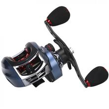 17+1BB High Speed 7.2:1 Gear Ratio Fishing Bait Casting Reels Braking Force 10KG / 22LB with Right Left Hand Optional цена