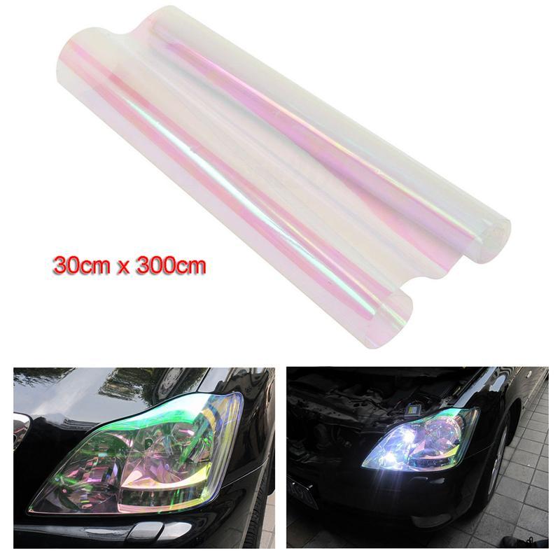 Chameleon Clear Car Auto Headlight Taillight Fog Light Tint Vinyl Film Decal US
