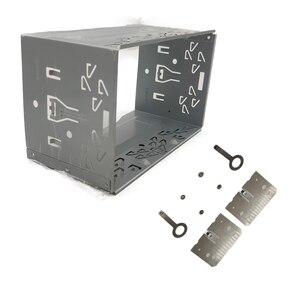 Image 1 - 2din 継手キットラジオヘッドユニットインストールフレーム一般的な 2din 継手キット自動車ラジオプレーヤーボックス