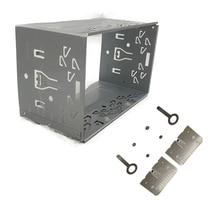 Kit de accesorios 2din, unidad frontal de Radio, marco de instalación General, 2din Kit de accesorios, caja de reproductor de Radio automotriz