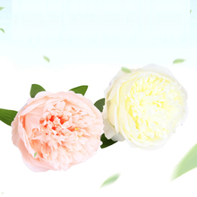 6pcs/lot Silk Persian Rose Head Artificial Flowers For Wedding Decoration DIY Wreath Gift Box Floral Party Design