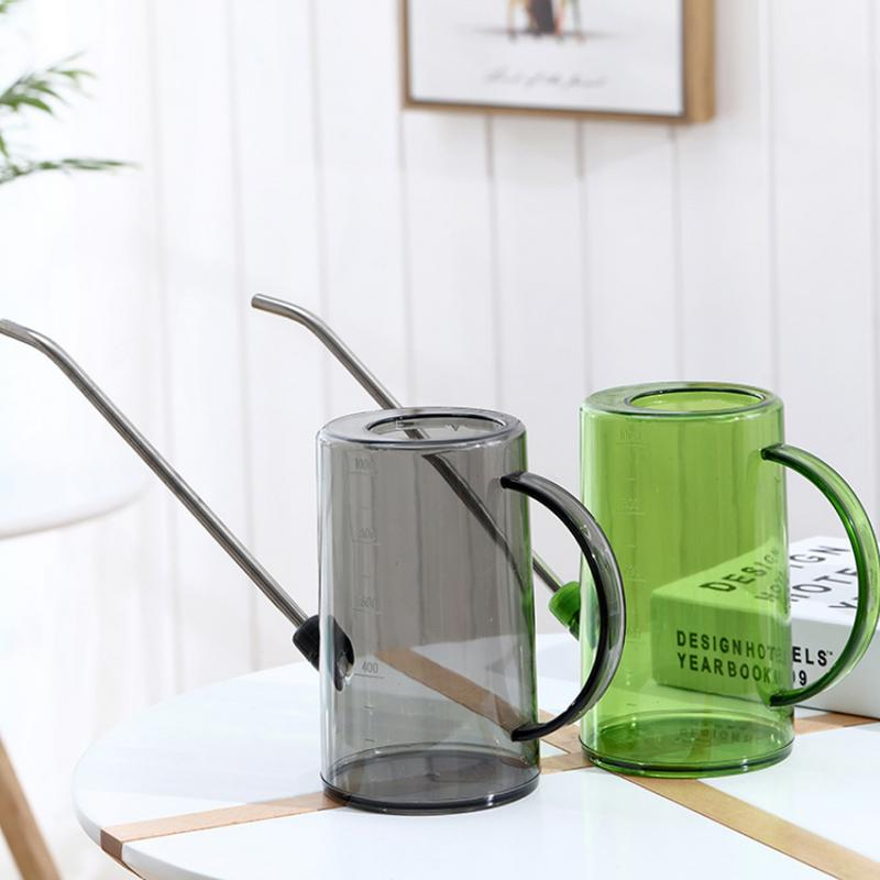 1.2L Long Mouth Cylindrical Gardening Tools  Plant Sprinkler Watering Can