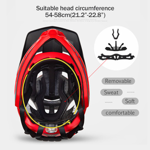 Image 3 - GUB FF Bicycle Helmet Children Balance Car Full Helmet Integrally molded Outdoor Cycling Accessories Men Bike Helmet 48 57cm