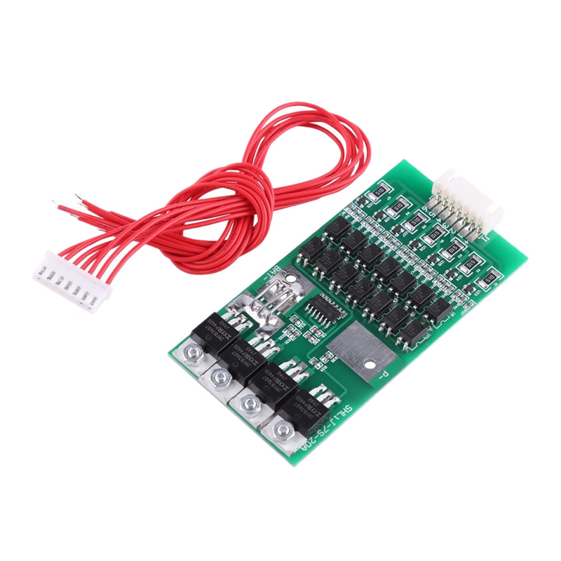 Lithium Battery Protection Board 7S 24V 20A Battery Protection Board Lithium Battery Bms Protection Board With Balance Functio