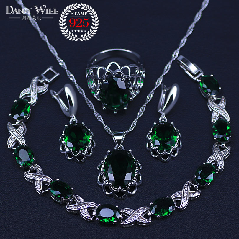 Natural 925 Silver Jewelry...