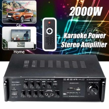 2000W 220V Car Amplifier Audio Power Amplifier bluetooth Stereo Home