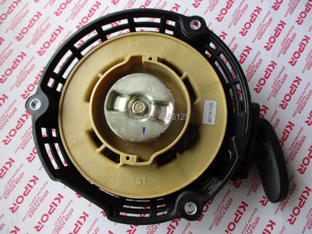 KIPOR IG2000 KGE2000TI recoil starter assy for digital frequency generators partsKIPOR IG2000 KGE2000TI recoil starter assy for digital frequency generators parts