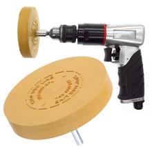 3.5 inch/88mm Rubber Eraser Wheel Arbor Pinstripe Sticker Decal Tape Glue Adhesive Remover
